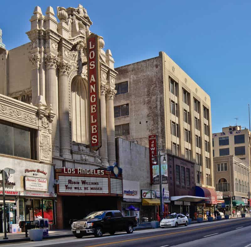 Los Angeles Theatre in Broadway