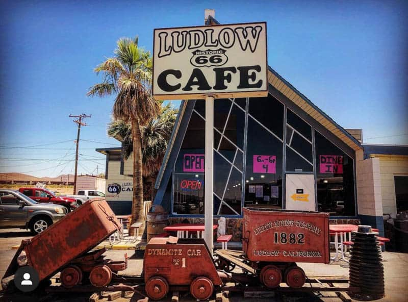 Ludlow Cafe Ludlow California
