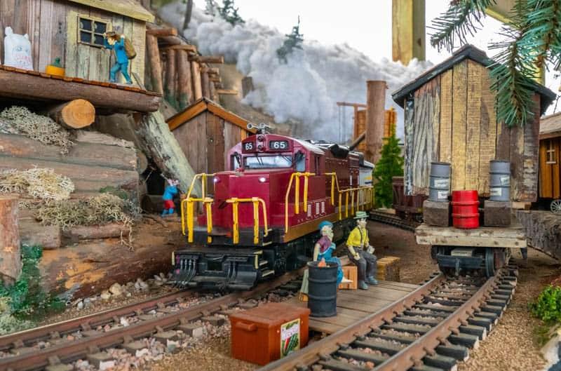 Mendocino Coast Model railroad & Historical Society Fort Bragg California