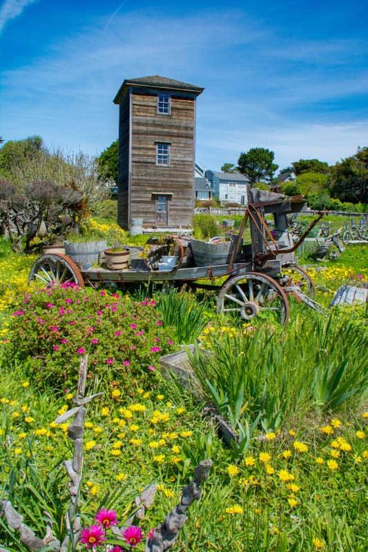 Mendocino Village Northern California