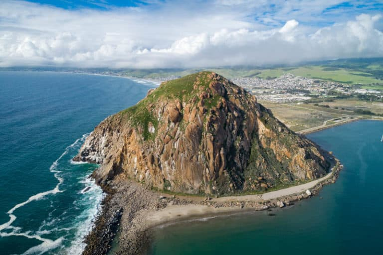 Morro Bay is a must visit town in Central California, with Morro Rock as its dominating feature.