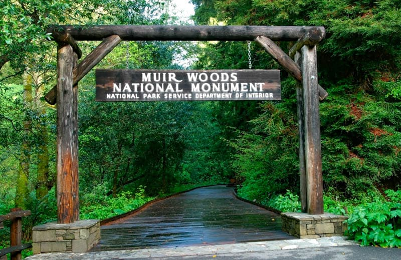 Muir Woods Entrance Mill Valley California