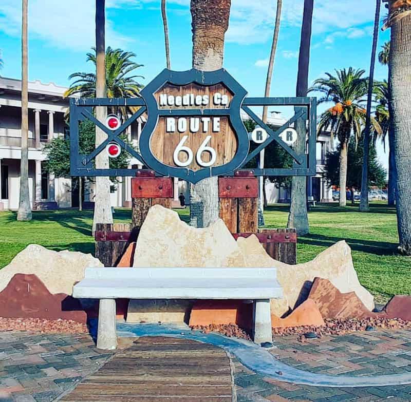 Needles California Route 66 Sign