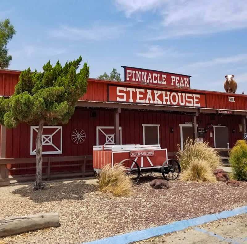 Pinnacle Peak Steakhouse San Dimas California
