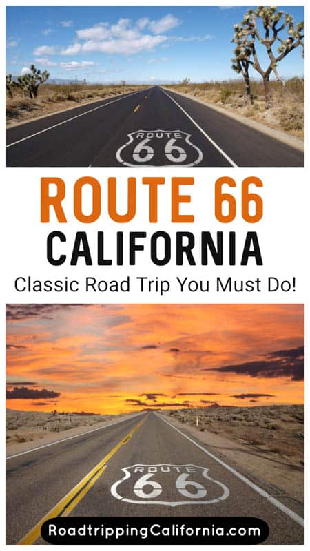 A day-by-day, in-depth itinerary for driving Route 66 through California, from Needles on the Arizona border to Santa Monica Pier!