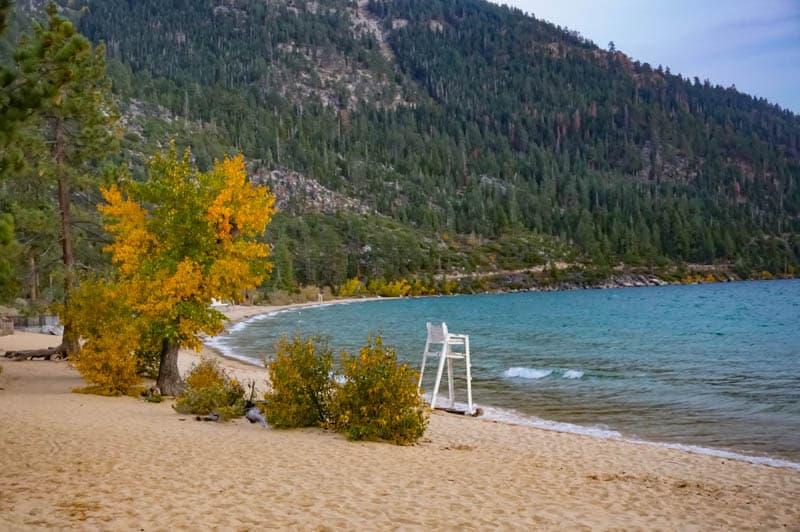 Sand Harbor State Park Lake Tahoe Nevada