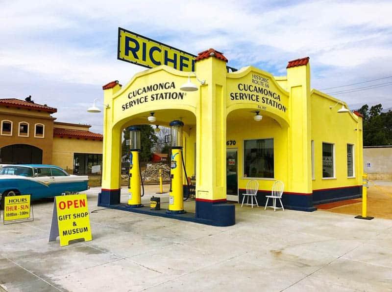 Service Station in Rancho Cucamonga California
