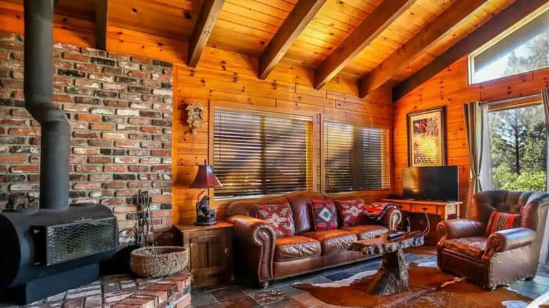 Living Space South Lake Tahoe Chalet Airbnb