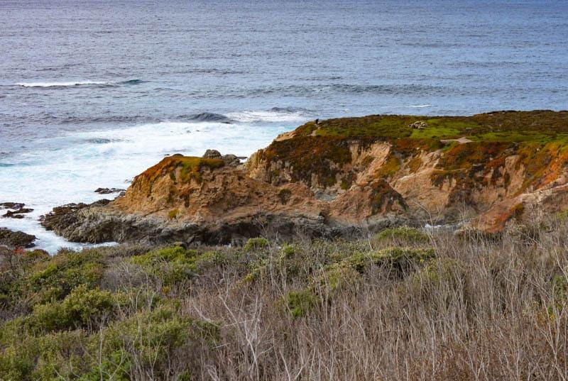 Views at Soberanes Point in Big Sur California