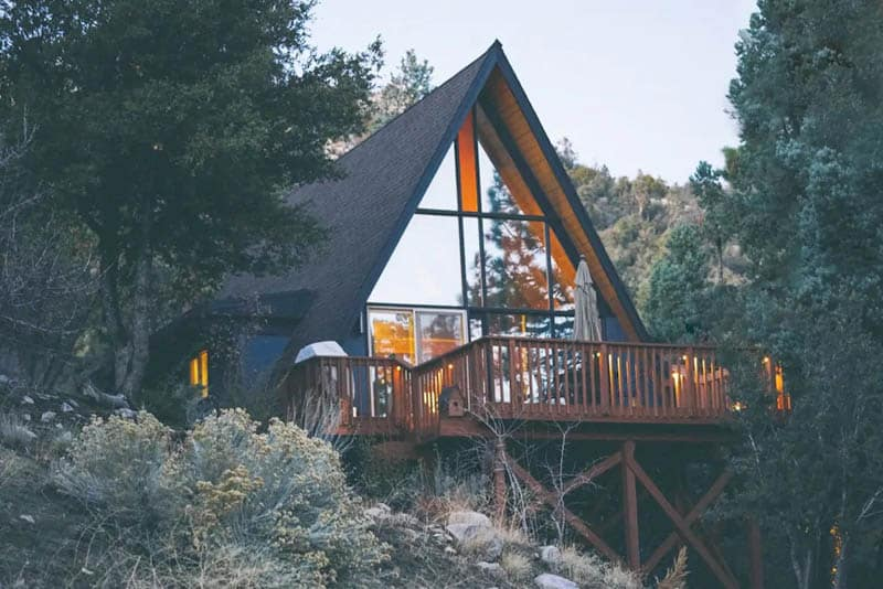 Big Bear Airbnb Cabin with Large Deck