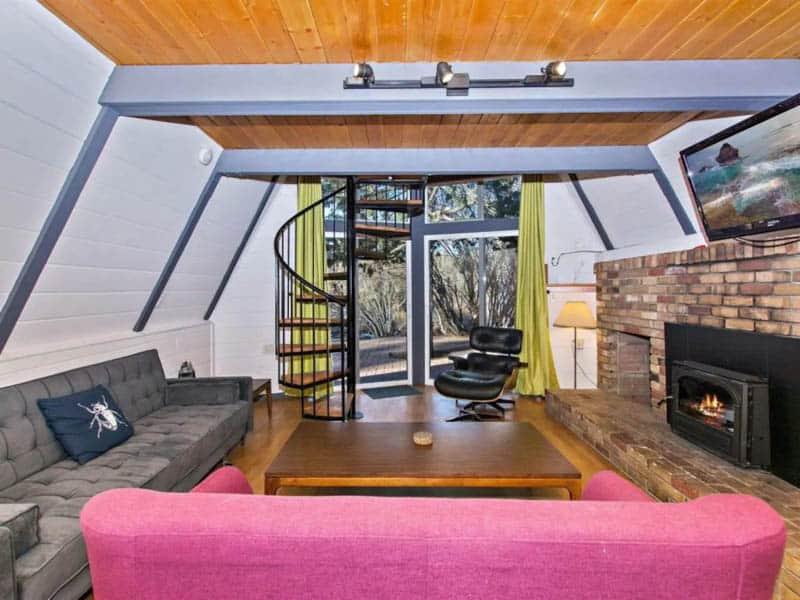 Interior Big Bear Airbnb Cabin