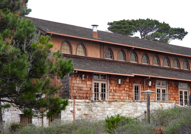 One of the buildings at Asilomar  Conference Grounds in Pacific Grove California