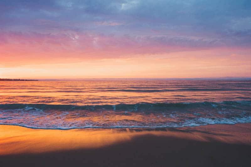 Sunset at a Beach on the California Central Coast