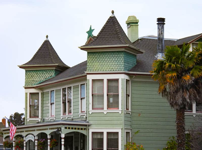 Centrella Inn is one of the historic houses in Pacific Grove, CA