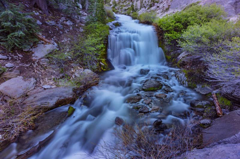 Kings Creek Falls in Lassen Vocanic NP