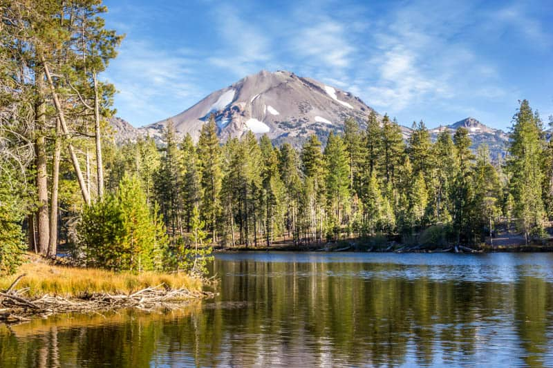 Lassen Volcanic National Park in the fall