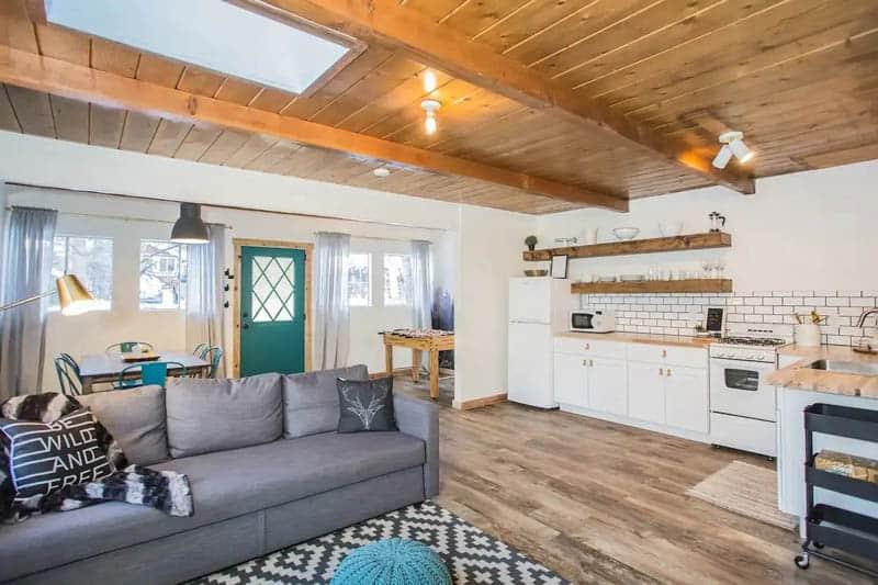 Big Bear Lake Airbnb Cabin Interior