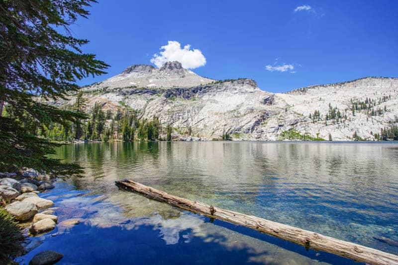 May Lake in Yosemite National Park California