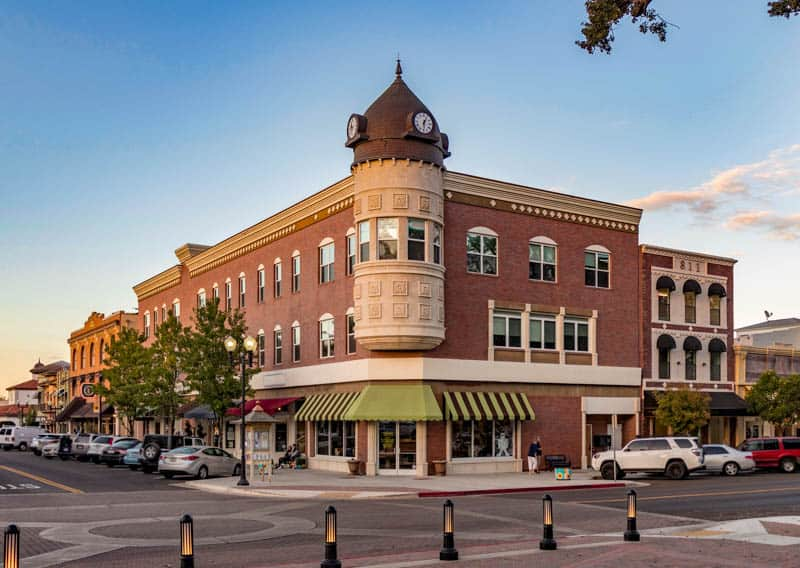 Downtown Paso Robles features great architecture