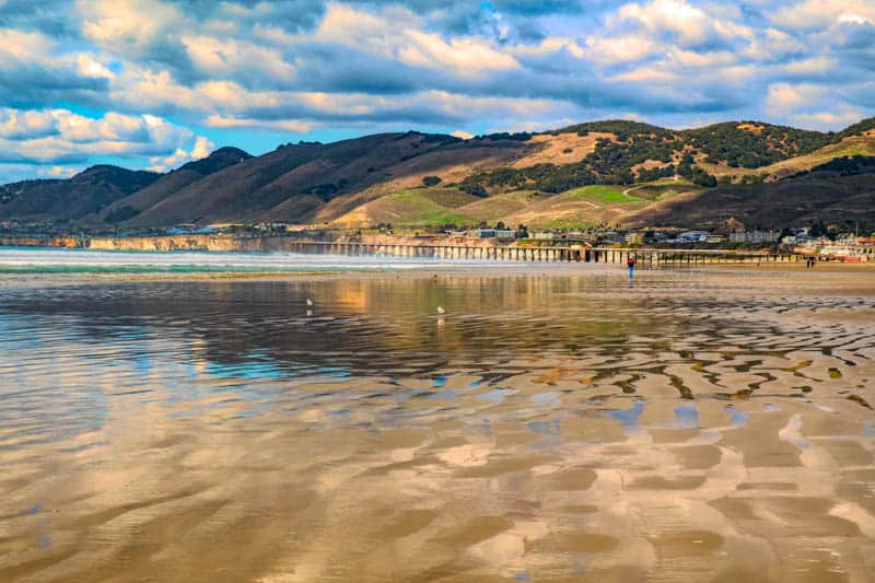 Beautiful Pismo Beach on the Central Coast of California