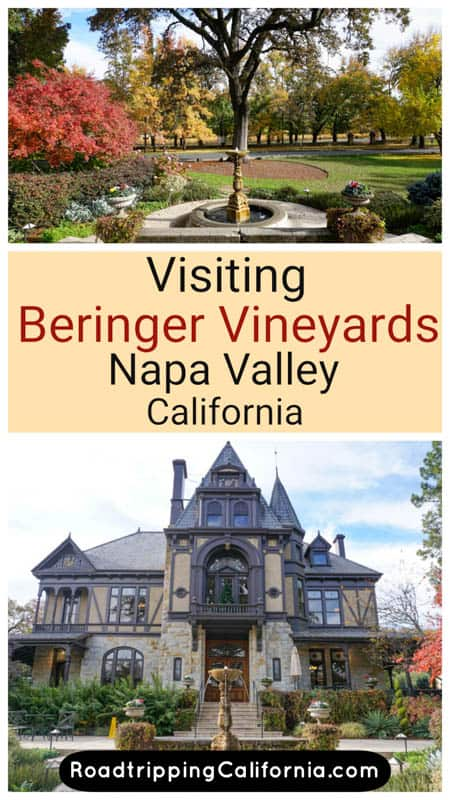 Discover beautiful Beringer Vineyards, one of the most historic estates in Napa Valley, California. It is famous for its art, architecture, and gardens, besides its wine!