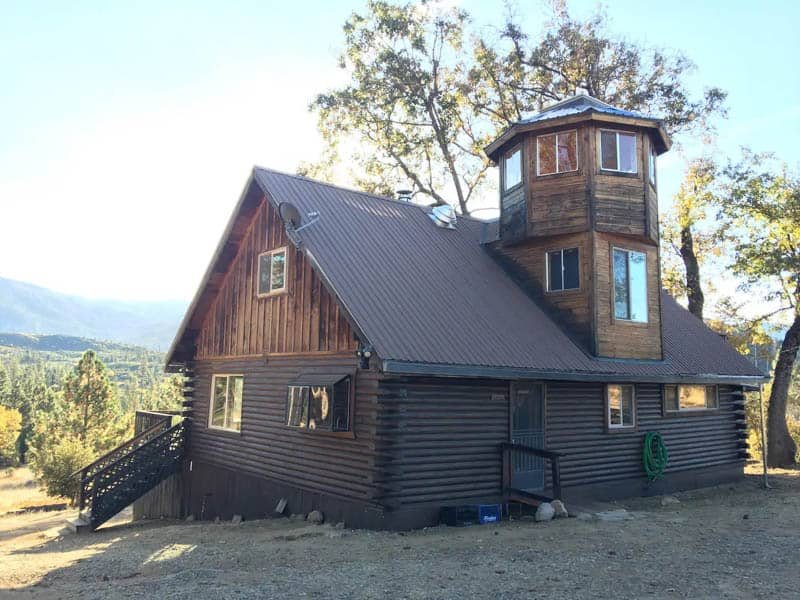 Yosemite Log Cabin Airbnb