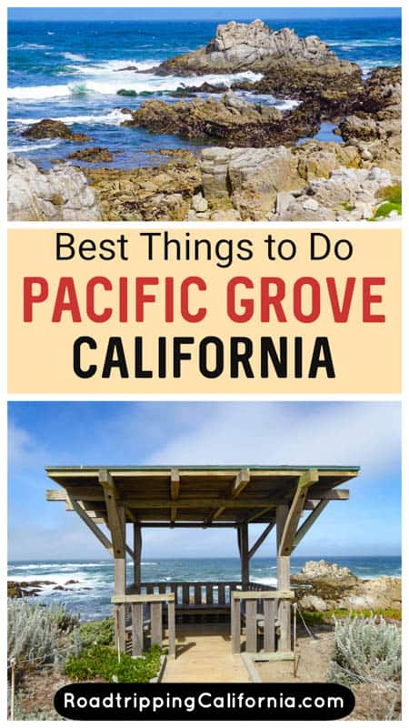 Discover the best things to do in Pacific Grove California! Located in Monterey Bay, PG offers a beautiful beach, an old lighthouse, and a historic town to explore!