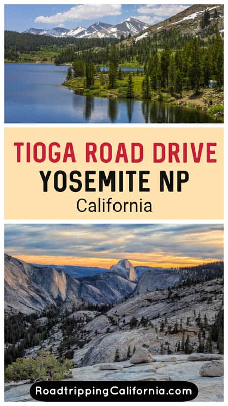 Discover the best sights and hikes along the famous Tioga Pass Road in Yosemite National Park in California. Makes for a great summer road trip through the park!
