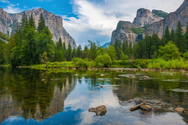 Yosemite National Park in the Sierra Nevada of California