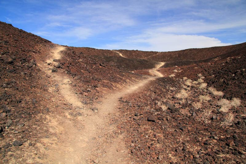 Hiking Amboy Crater in Southern California