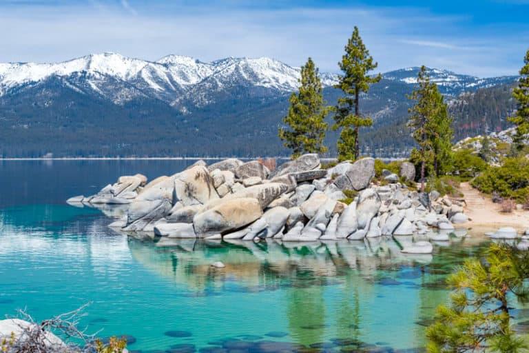 Lake Tahoe is one of the most popular California weekend getaways.