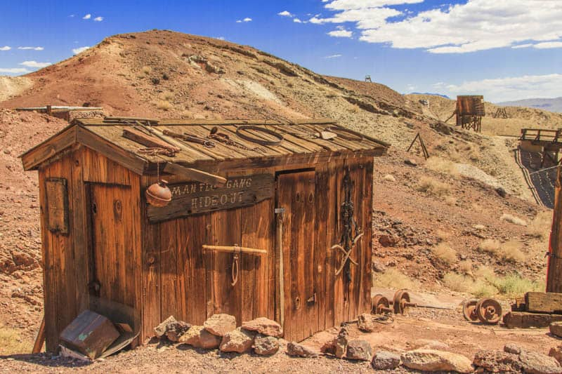 Calico Ghost Town near Route 66 in California