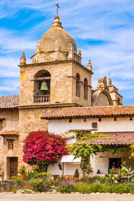 Spanish Mission in Carmel California