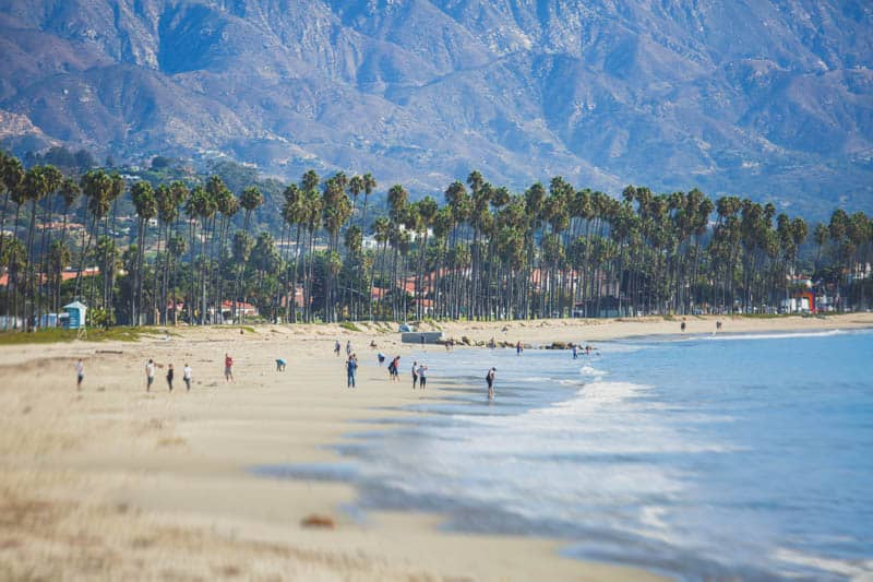 East Beach in Santa Barbara, California
