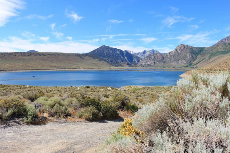 Grant Lake in the Eastern Sierra of California