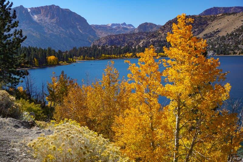 June Lake, California, in the Fall