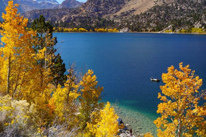 June Lake in the Eastern Sierra of California