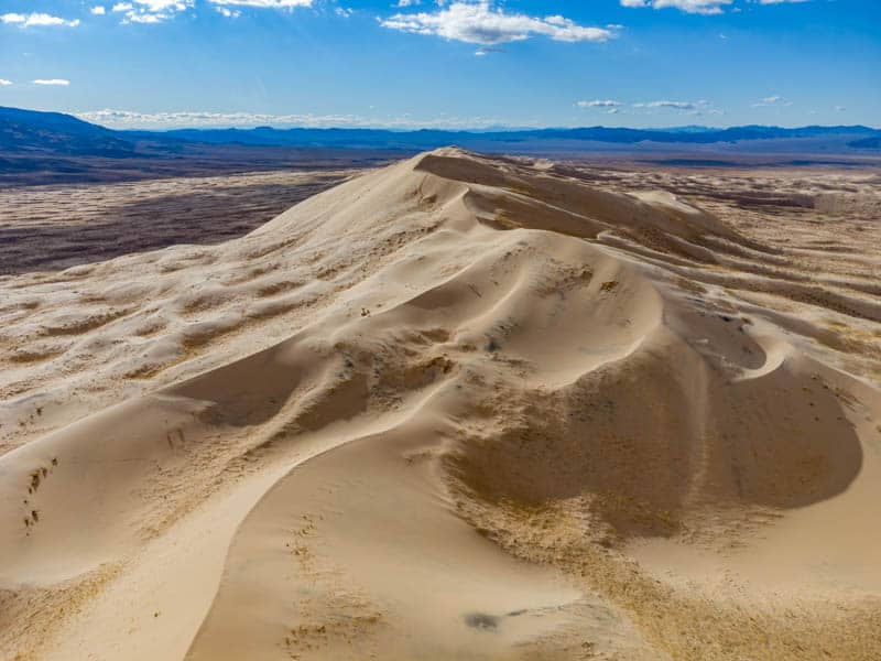 Kelso Dunes in the Mojave National Preserve in Southern California