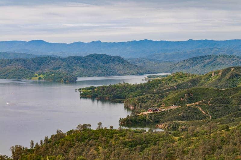 Lake Nacimiento near Paso Robles in California