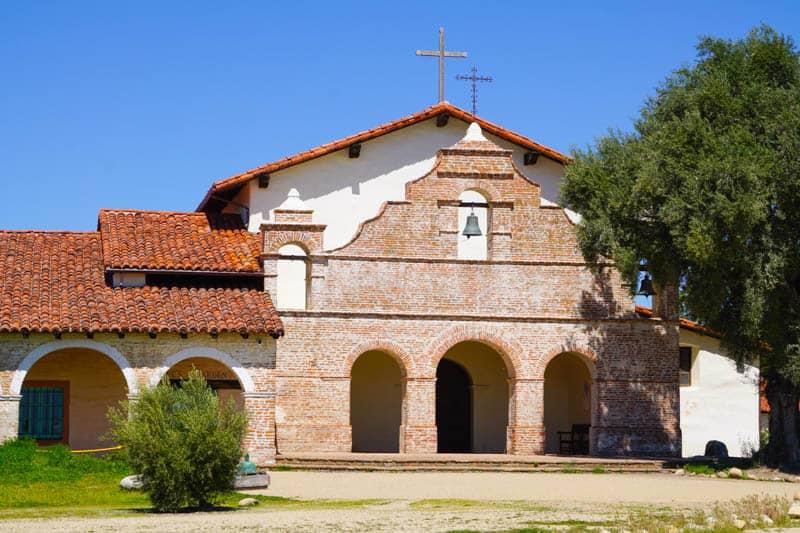 Mission San Antonio in Jolon, California