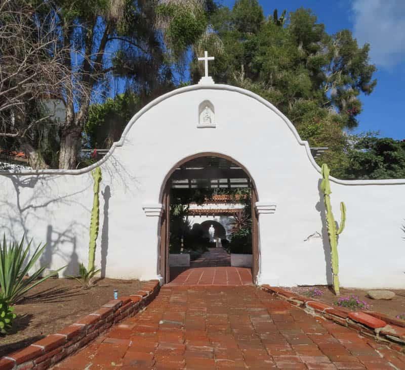 Mission San Diego de Alcala Entrance