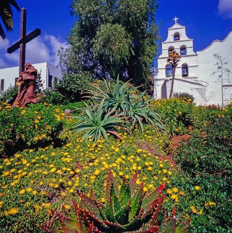 Mission San Diego in San Diego, California