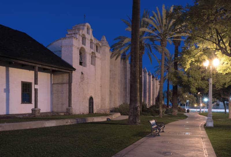 Mission San Gabriel in California