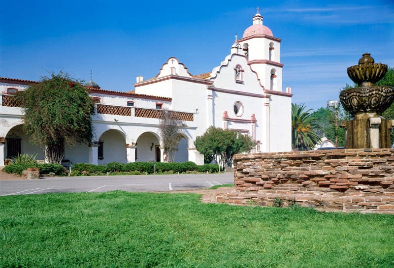 Mission San Luis Rey in Southern California