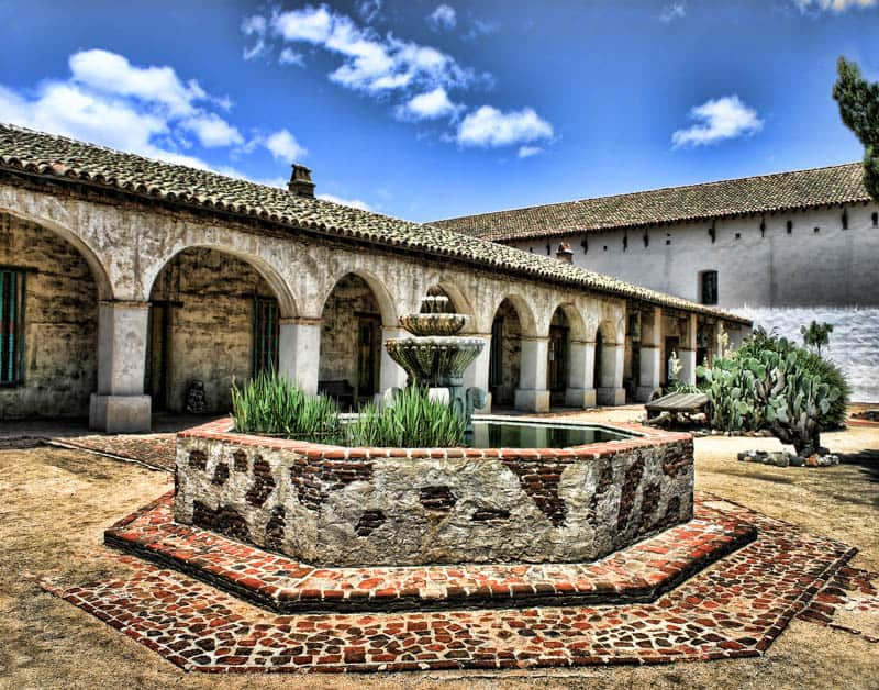 Mission San Miguel in California