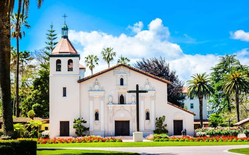 Mission Santa Clara in California