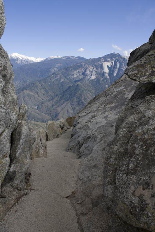 Moro Rock Trail Sequoia National Park California
