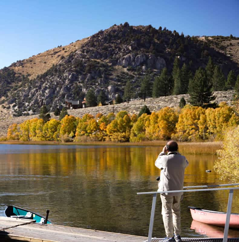 Photographing Fall Colors at Gull Lake in October