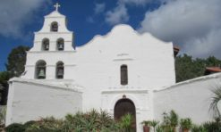 Visiting Mission San Diego de Alcala in San Diego, California