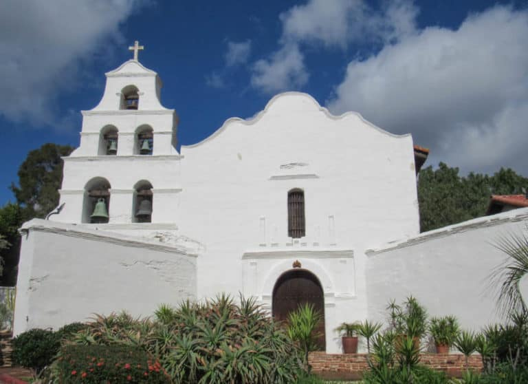 Mission San Diego de Alcala in san Diego, California